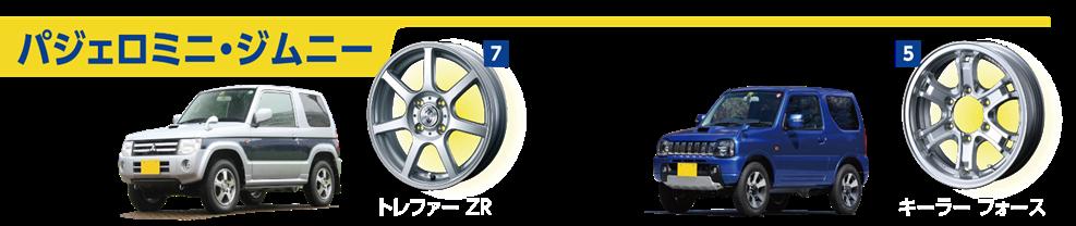 パジェロミニ・ジムニー専用スタッドレスタイヤ